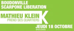 Boudonville, Scarpone, Libération : Mathieu Klein prend ses quartiers