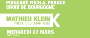 Mathieu Klein prend ses quartiers : Poincaré, Foch, Anatole France, Croix de Bourgogne