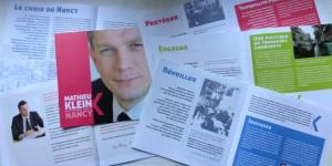 Élections municipales de Nancy 2014 : un premier document en cours de distribution à tous les habitants de la ville