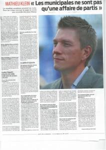 «Les municipales ne sont pas qu'une affaire de partis» (La Semaine)