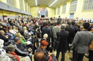 Grand rassemblement au Gymnase Charles V : «Le moment est venu !»