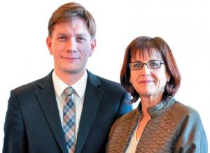 Véronique Billot et Mathieu Klein (l'Est Républicain)