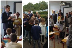 Visite de la journée au collège Ferdinand Buisson à Thiaucourt