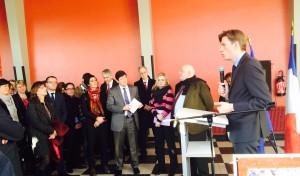 Visite de Patrick Kanner à Nancy autour de la politique de la Ville