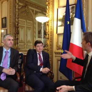 Rencontre avec Patrick Kanner, Ministre de la ville