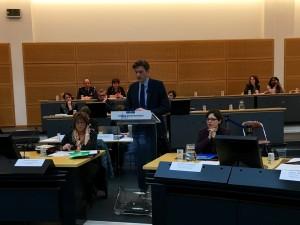 Discours d'ouverture de la session du Débat d'orientation budgétaire