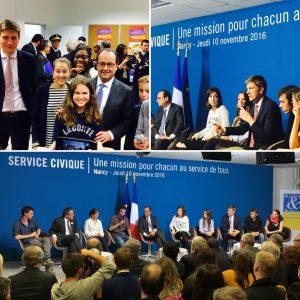 Lancement l'Institut de l'Engagement en présence de François Hollande
