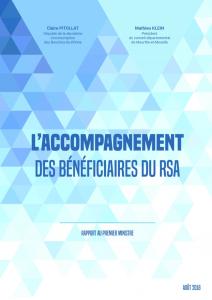 Remise du rapport sur l'insertion des personnes qui vivent avec le Revenu de solidarité active (RSA)